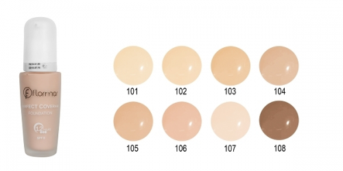 Flormar Perfect Coverage Foundation 107