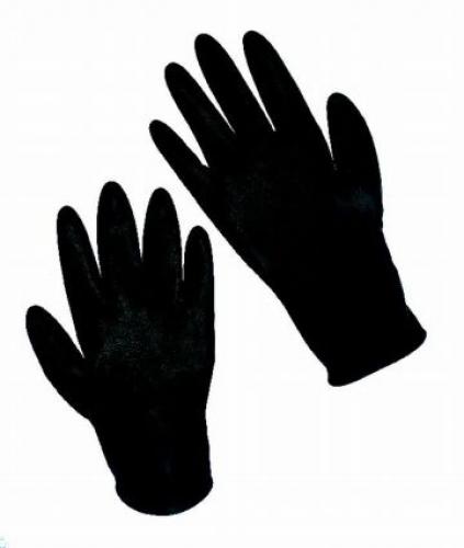 Guanti Riutilizzabili Black Latex mis S