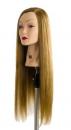 Testamodella 60cm Mix 60% capelli veri 40% fibra sintetica
