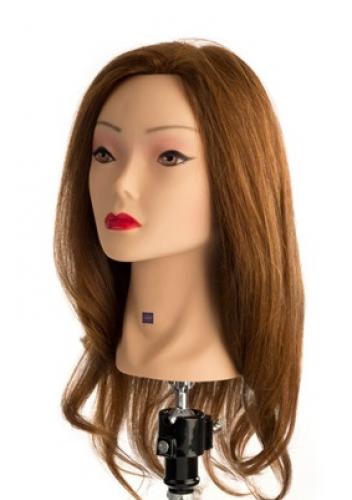 Testamodella 40cm 100% capelli veri LaborPro