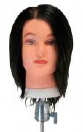 Testa Modella Uomo capelli Veri