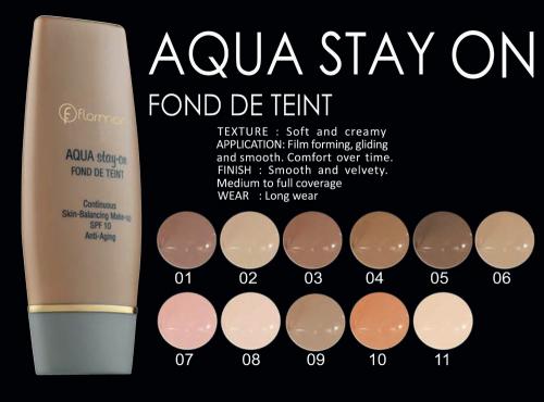 Flormar Aqua Stay on Found 09