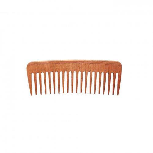 Pettine Antistatico in legno Afro