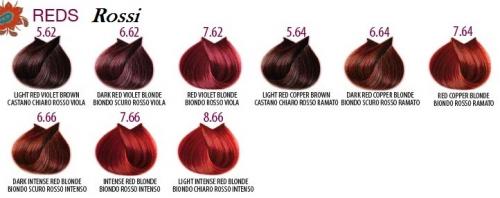 7.66 Life Color Plus 100ml BIONDO ROSSO INTENSO