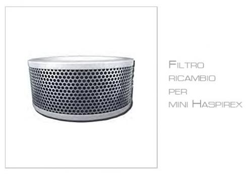 Filtro Carboni Attivi per mini Haspirex