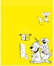 MANTELLA BIMBO DOG GIALLA